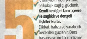 Yazimiz bugün Hürriyet Cumartesi ekinde Hurriyet.com.tr