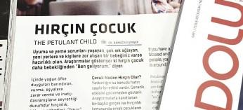 HIRÇIN ÇOCUK adlı makalemiz Kasım ayı Türk Hava Yolları AnadoluJet dergisinde. İyi uçuşlar, keyifli okumalar...
