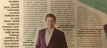 KARNE alan çocuklara nasıl yaklaşmalı? Başarı yüksek ya da düşükse ne demeli? Star Gazetesi Pazar ekinde...