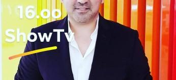 Bugün saat 16.oo'da ShowTv de sevgili @zahideyetis e konuk oluyorum. Birlikte olmak dileğiyle...