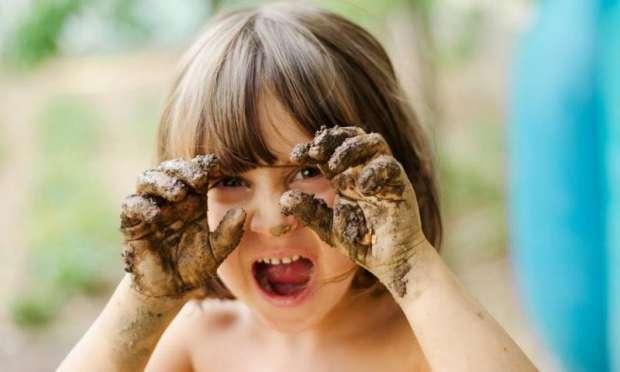 Çocuğunuzun Kirlenmesine İzin Verin.